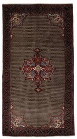 Koliai Vloerkleed 163X300 Echt Oosters Handgeknoopt Tapijtloper Zwart/Donkerbruin (Wol, Perzië/Iran)