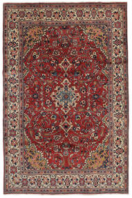 Mahal Vloerkleed 207X319 Echt Oosters Handgeknoopt Donkerbruin/Zwart (Wol, Perzië/Iran)