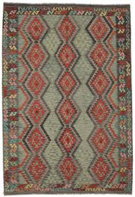 Kelim Afghan Old Style Vloerkleed 207X302 Echt Oosters Handgeweven (Wol, Afghanistan)