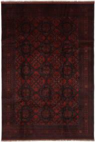 Afghan Khal Mohammadi Vloerkleed 200X300 Echt Oosters Handgeknoopt Zwart (Wol, Afghanistan)