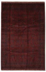 Afghan Khal Mohammadi Vloerkleed 200X299 Echt Oosters Handgeknoopt Zwart (Wol, Afghanistan)
