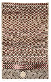 Moroccan Berber - Afghanistan Vloerkleed 118X190 Echt Modern Handgeknoopt Donkerbruin/Zwart (Wol, Afghanistan)