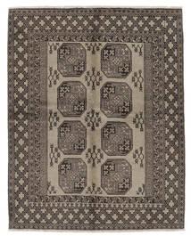 Afghan Vloerkleed 159X198 Echt Oosters Handgeknoopt Donkerbruin/Zwart (Wol, Afghanistan)