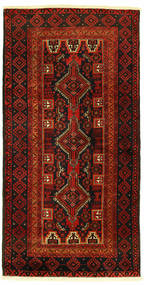 Beluch Vloerkleed 96X193 Echt Oosters Handgeknoopt (Wol, Perzië/Iran)
