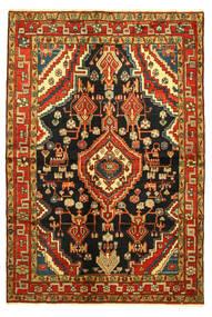Hamadan Vloerkleed 138X203 Echt Oosters Handgeknoopt (Wol, Perzië/Iran)