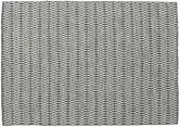Kelim Long Stitch - Zwart / Grijs